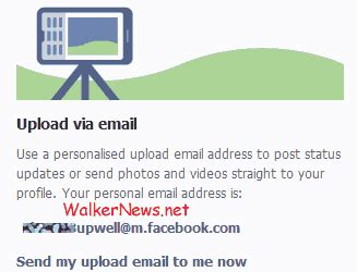 Personal Address Finder How To Use Email To Post Status Update Or Picture To Walker News