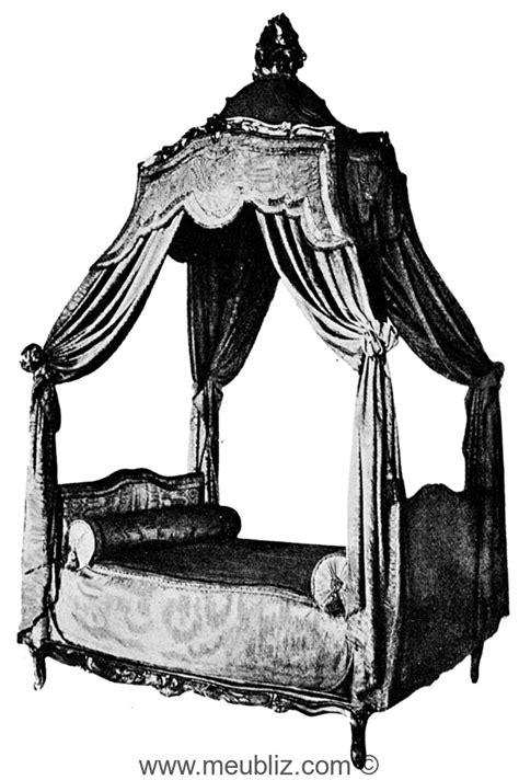 Lit à la polonaise Louis XV - Meuble de style