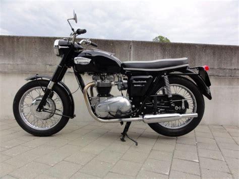 Motorrad Bmw Oldie Schwarz by Motorrad Oldtimer Kaufen Triumph Thunderbird 6t Eicher