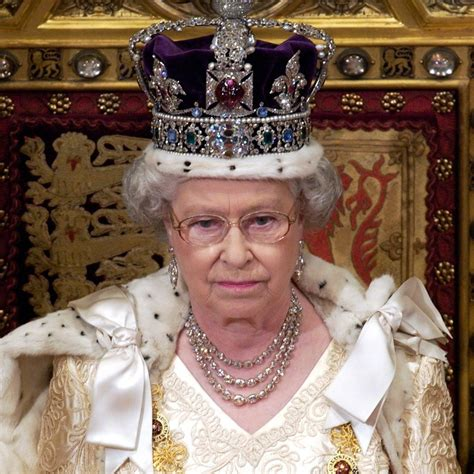 queen elizabeth queen elizabeth ii regalia facts popsugar celebrity