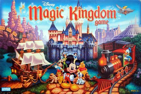disney world games disney magic kingdom game board game boardgamegeek