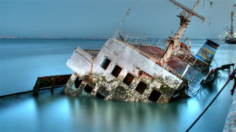 sunk ship 1920 x 1080 other photography