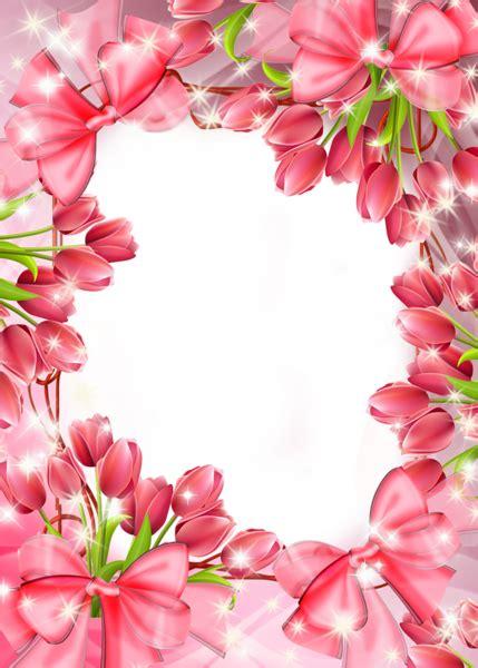 Aksesona Anting Flower Tulip Gold White Transparent gallery frames