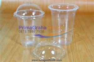 Tutup Gelas Cup Plastik Cembung tutup gelas domlid cembung minuman tambahan home
