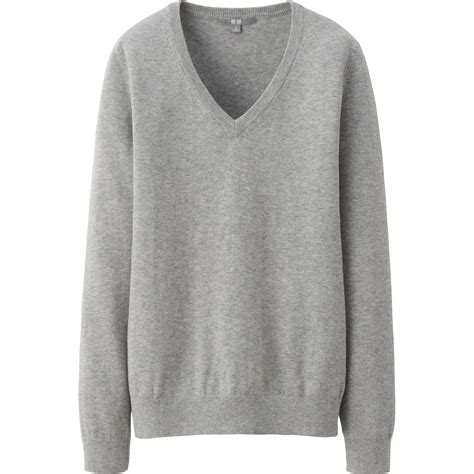 Grey Vneck grey v neck sweater womens sweater