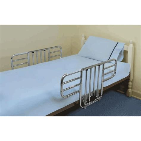 bed side rail mabis dmi half length steel bed rails side rail protection