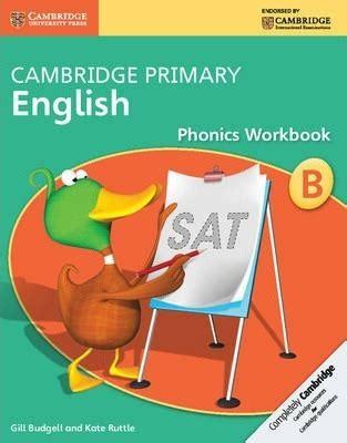 cambridge primary phonics workbook b kate ruttle 9781107675926