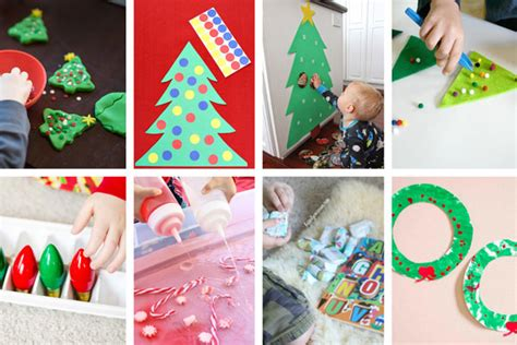 group christmas crafts 30 easy toddler activities