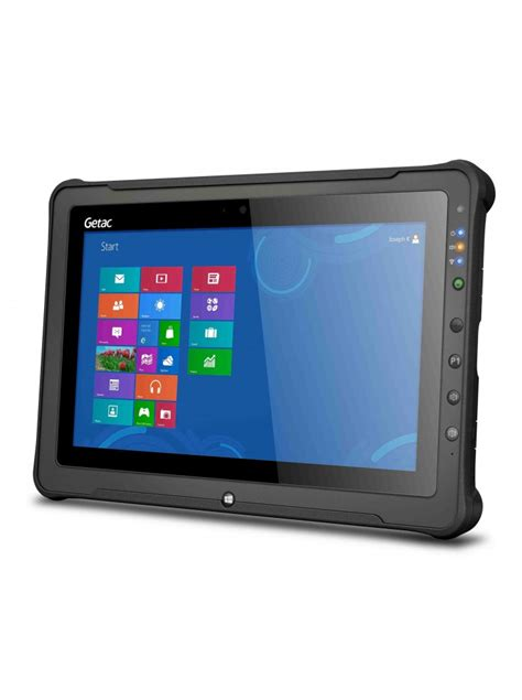 rugged gps getac f110 rugged tablet 4gb ram 8mp rear gps
