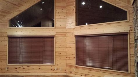 log cabin l shades new log cabin traditional vertical blinds