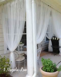 Mosquito Curtains For Porch Sheer Panels On Covered Porch Mosquito Netting So Can And Sit Outside Craftsman Bungalow