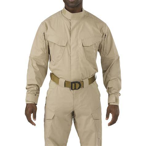 S Top Shirt L S Blue 5 11 stryke tdu tactical army shirt sleeve