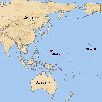 where is guam on the world map our days in guam