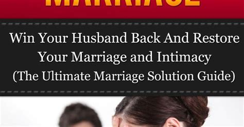Winning your marriage