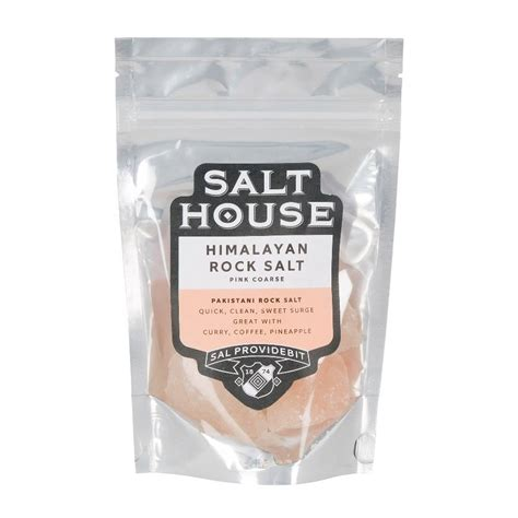 Himalaya Salt Original Pakistan himalayan coarse grain pink rock salt by salthouse