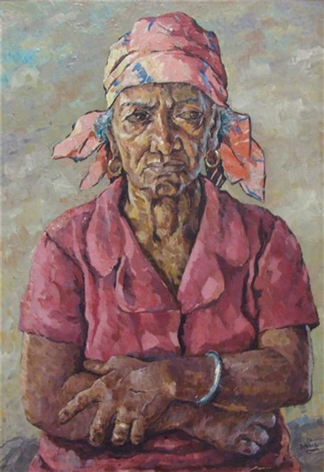 biography of jamaican artist albert huie untitled portrait albert huie wikiart org