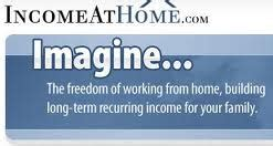 income at home dot is incomeathome legitimate