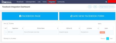 facebook lead ads tutorial cara mengintegrasikan kirim email dengan facebook lead ads