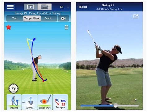 golf swing analysis swing by swing app 28 images golf apps thetechgeek