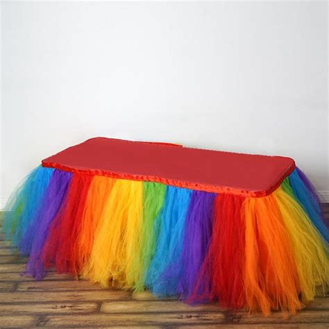 tulle tutu table skirt best 25 tulle table ideas on tulle table