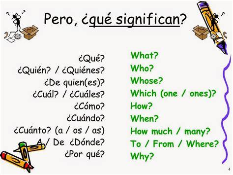 preguntas en ingles con wh wh questions palabras para hacer preguntas who what