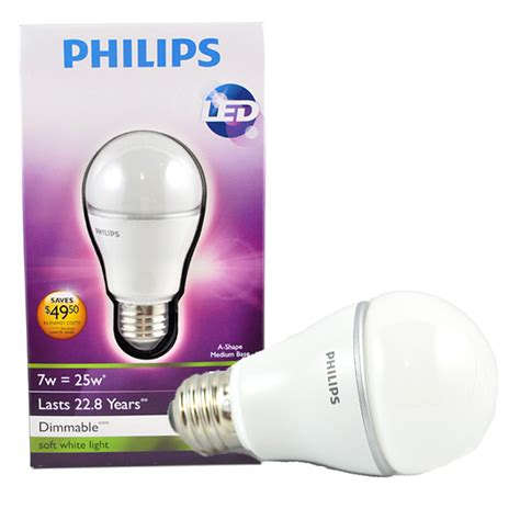 Lu Philips Led Bulb 7 Watt philips led 4 pack lightbulb set