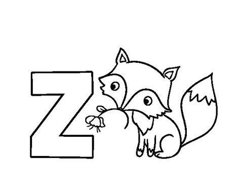 Dibujos Para Colorear Zorro | dibujo de z de zorro para colorear dibujos net