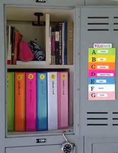organization tips for school 12 and easy diy ways to organize your school locker