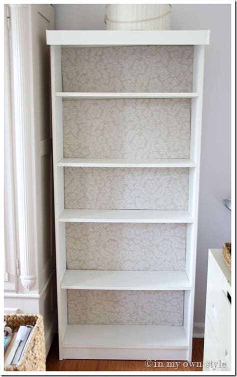 ikea billy bookcase makeover in my own style