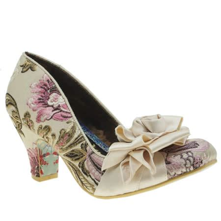 Irregular Choice Rosette Wedges At Asos by Womens Irregular Choice Yolanda Rosette Low Heels