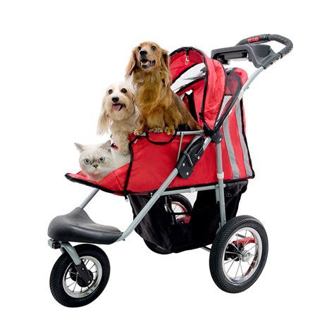 Pet Stroller Ibiyaya 2 ibiyaya turbo pet jogger stroller black