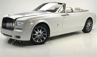 Roll Royce Coupe White 2017 Rolls Royce Phantom Drophead Coupe