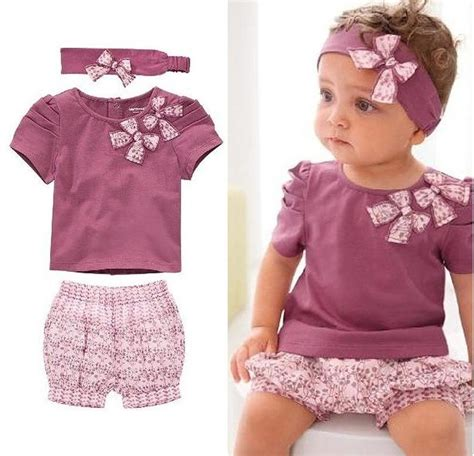 kid fashions style cotton baby clothing set