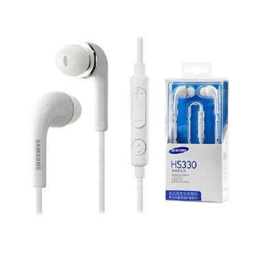 Headset Samsung Putih Ori Jual Samsung S4 Original Headset Hs 330 Putih Harga Kualitas Terjamin Blibli