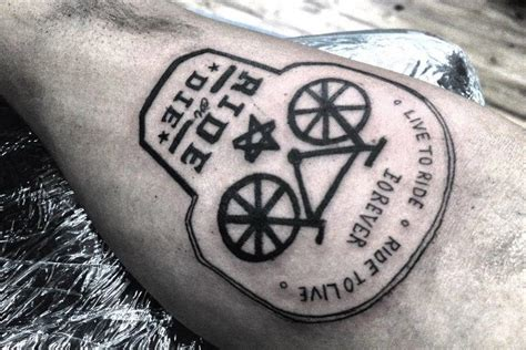Kaos Bikers Pin Cor Ride Or Die 109 best images about bicycle tattoos on bike