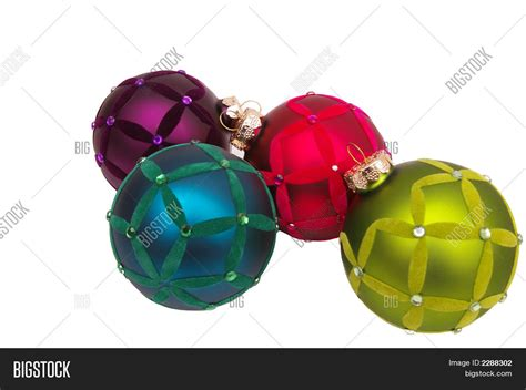 trendy christmas ornaments image photo bigstock