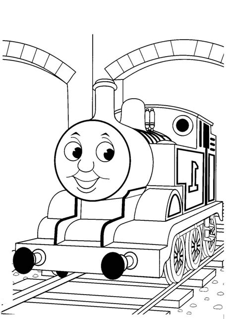 thomas train coloring page az coloring pages