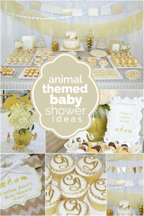 Animal Themed Baby Shower Invitations by A Golden Safari Themed Baby Shower Spaceships And Laser