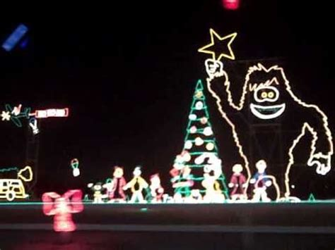 reynolds christmas lights display youtube