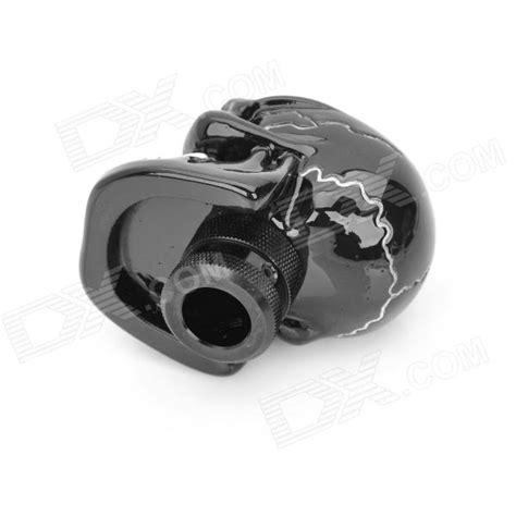 Resin Shift Knob by Cool Skull Style Resin Car Gear Shift Knob Black White