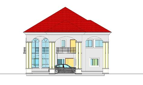 Construction Of A 6 Bedroom Duplex At Owerri Properties 6 Bedroom Duplex House Plans