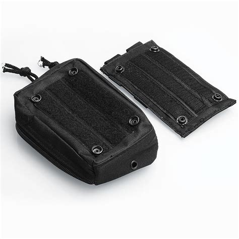 Fashion Bag Cig 08222 Black battle style black canvas carrying storage bag for e cigarette