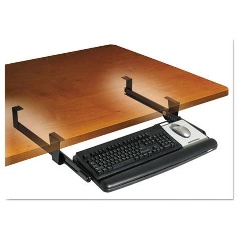 ergonomic keyboard tray under desk mmmkd90 3m adjustable under desk keyboard drawer zuma