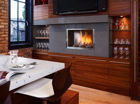 Modern Kitchens With Fireplaces by 20 Kitchen Ideas With Fireplaces