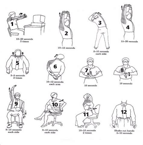 Desk Excercises by Desk Stretches Kinesis Chiropractic
