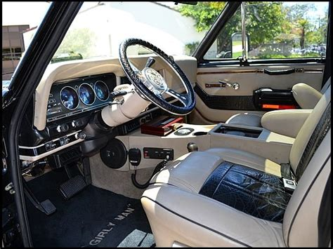 1990 jeep wagoneer interior 1984 jeep grand wagoneer restored by wcc for arnold
