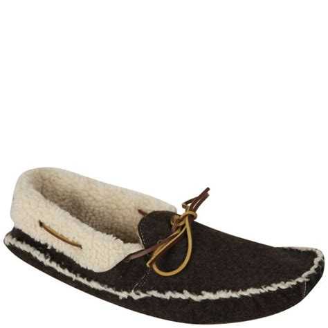 slippers for grandad h by hudson mens slippers in brown for lyst