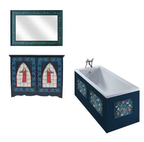 Bathroom Wall Ideas Gothic Revival Bathrooms Wooden Painted Gilded Carved