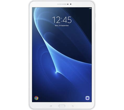 galaxy tablet buy samsung galaxy tab a 10 1 quot tablet 16 gb white