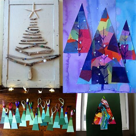 christmas trees for crafts